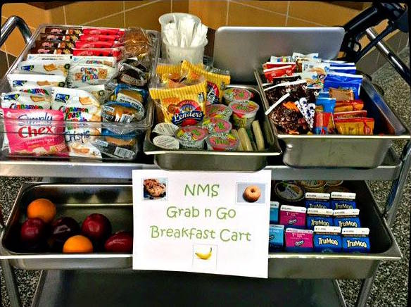Breakfast Carts Give Morning Food Mobility
