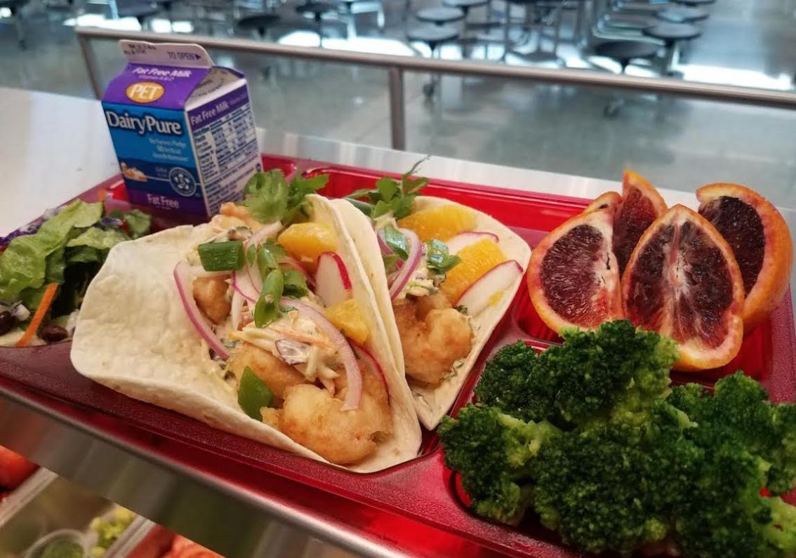 Seafood Loving Foodservice Director  Promotes Fish on School Menus