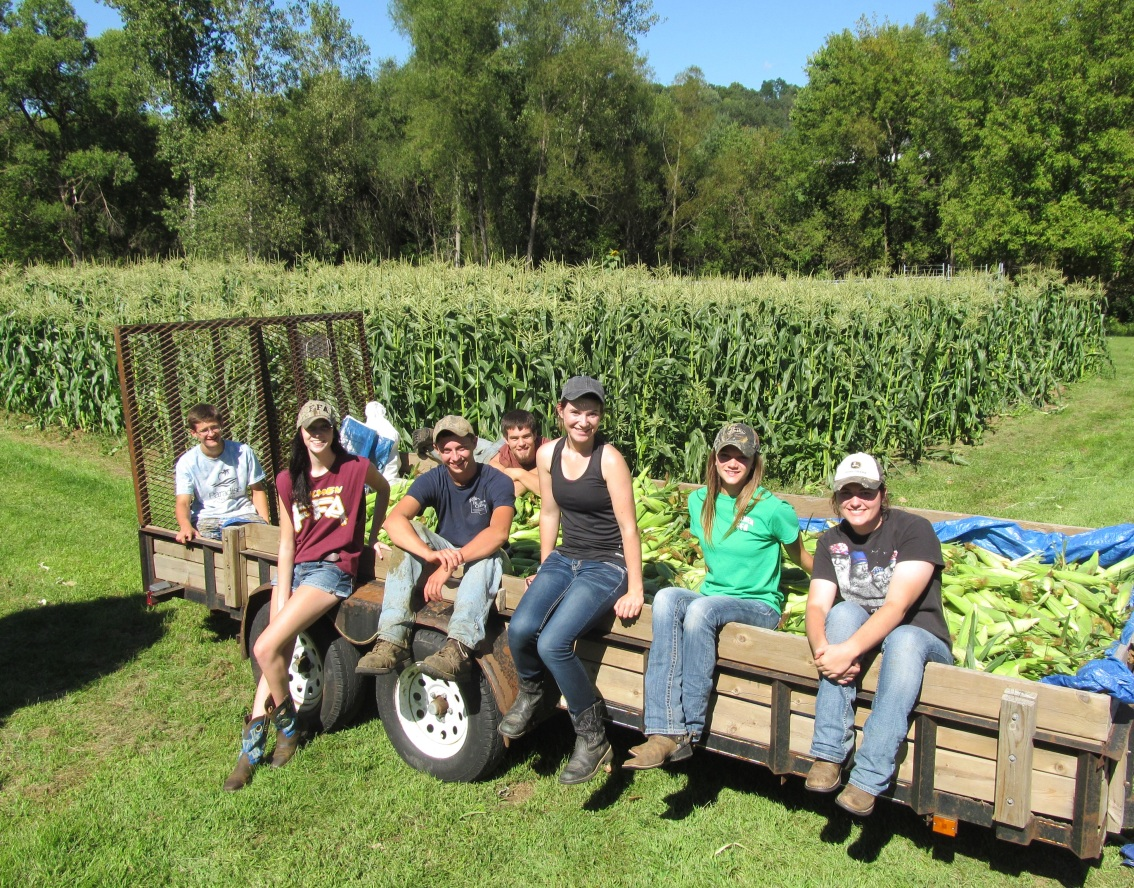 Student Farmers Contribute to Success of Healthy School Meals