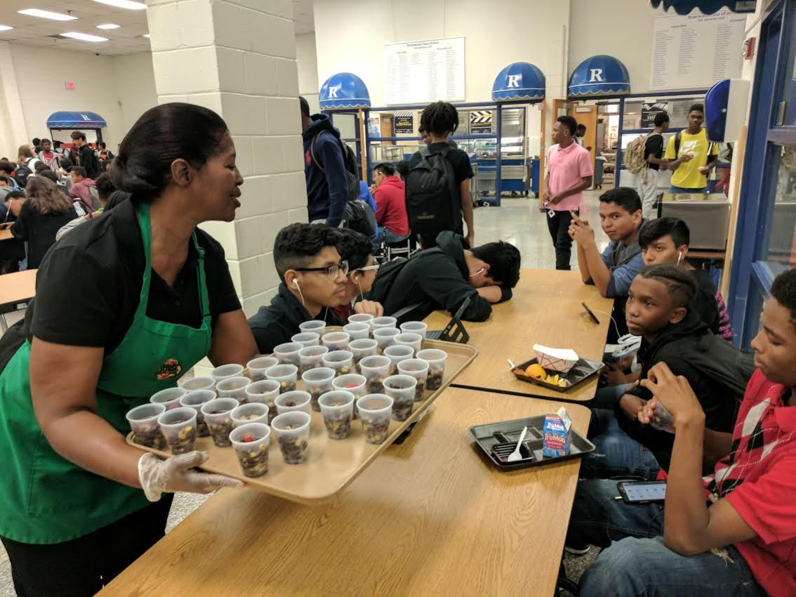 Schools Don't Let Fall Break Sideline Lunch Week Celebrations