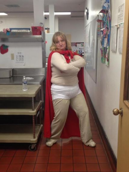 Captain Underpants comes to the Cafeteria!