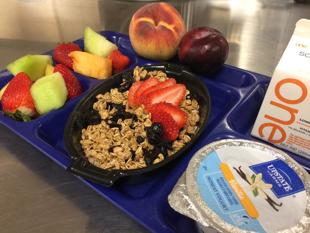 School Breakfast Offers Rainbow of Healthy Options for Students