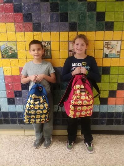 Davis Elementary Noel and Ethan