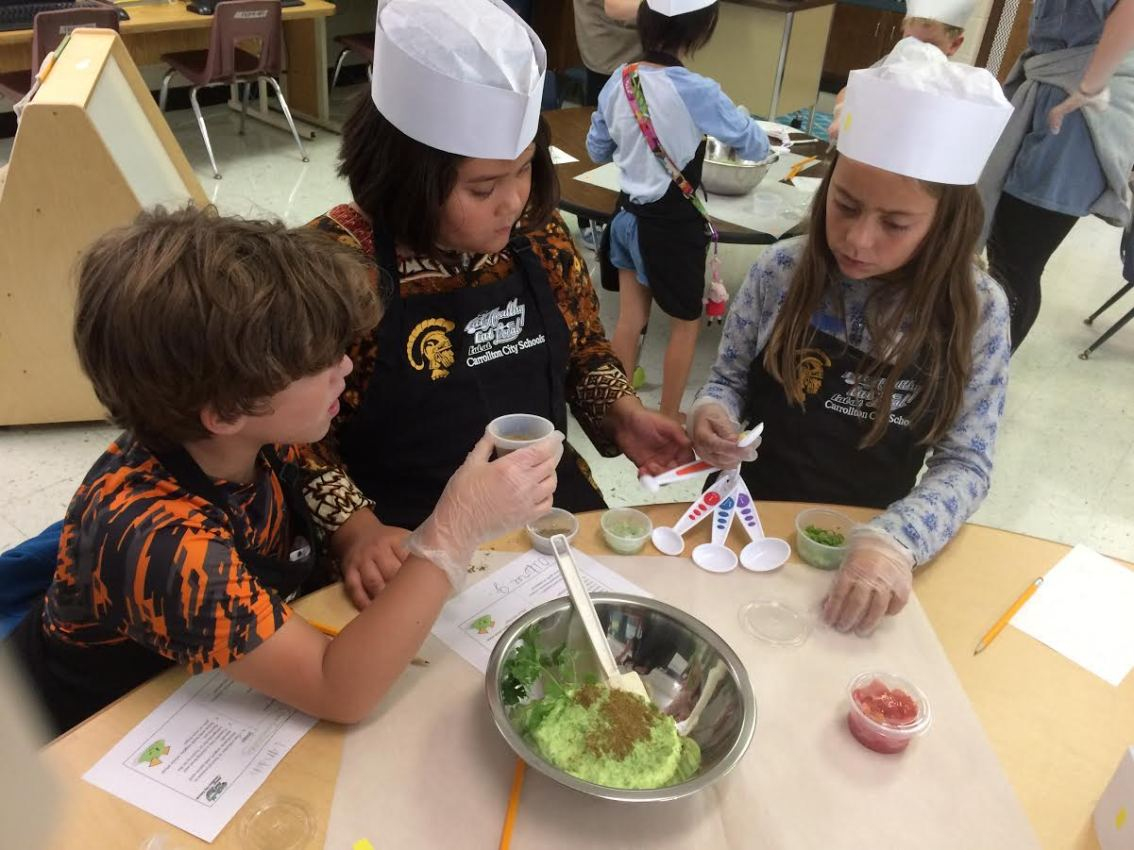 Mini Chefs Sharpen Culinary Skills After School