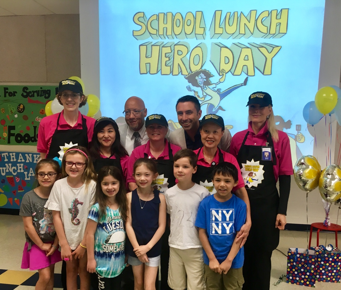 School Lunch Hero Day Celebrations Marked By Author Visit in Virginia