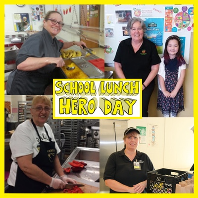 Nutrition Pros Earn Their Capes on School Lunch Hero Day
