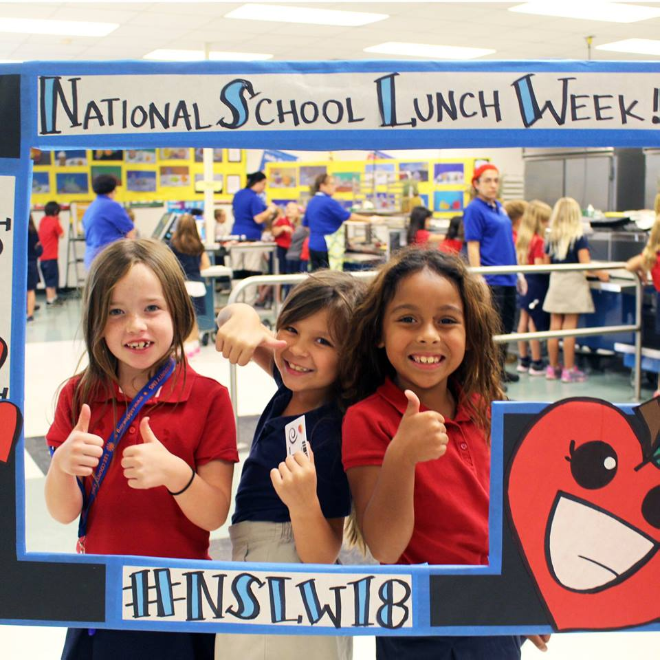Cafeterias share Lots2Love during National School Lunch Week