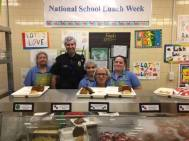 Broward County Schools with special guests and NSLW decorations (FL).