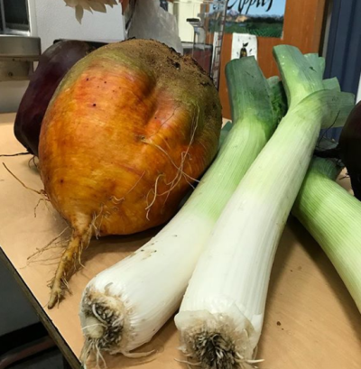 Jicama and leeks were on the menu in Highline Schools (WA).