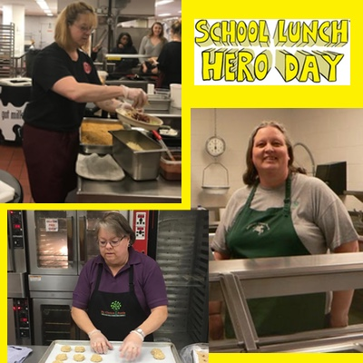 School Lunch Hero Day Celebrates Cafeteria Professionals
