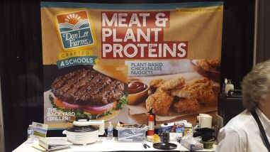 Meat and meat-alternative products are a great source of protein for students meals.