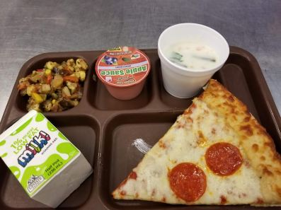 Some favorites whole grain items offered at Hamburg Central Schools (NY) include pizza and pastas.