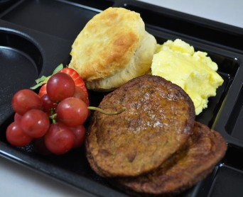 Utilizing the new whole grain flexibilities for school meals, Gwinnett County Schools were able to make a local GA favorite, the breakfast biscuit.