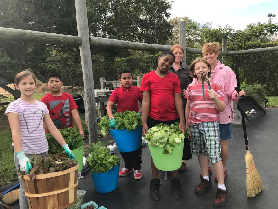 Fresh School Garden Produce Inspires New Menu Options