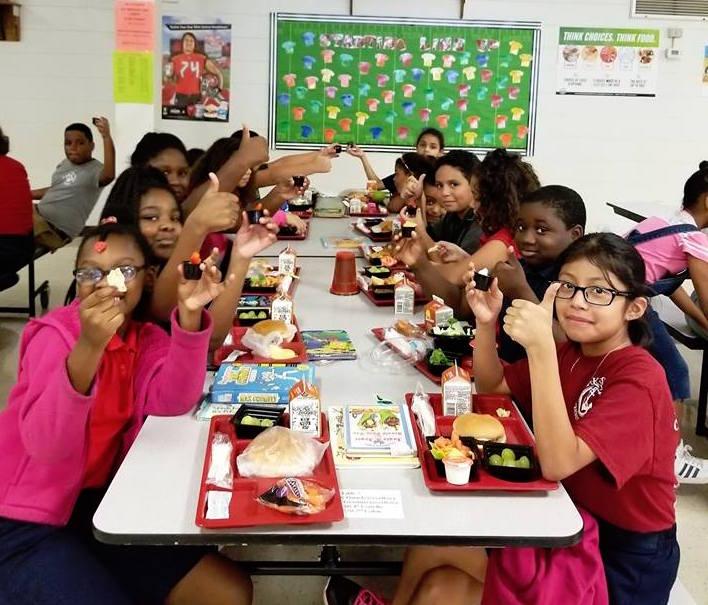 School Cafeterias On Trend During National School LunchWeek