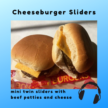 100% beef cheeseburger sliders will be served during NSLW 2019.
