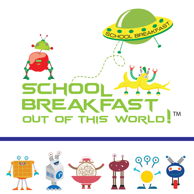 National School Breakfast Week (NSBW) Blasts Off In March