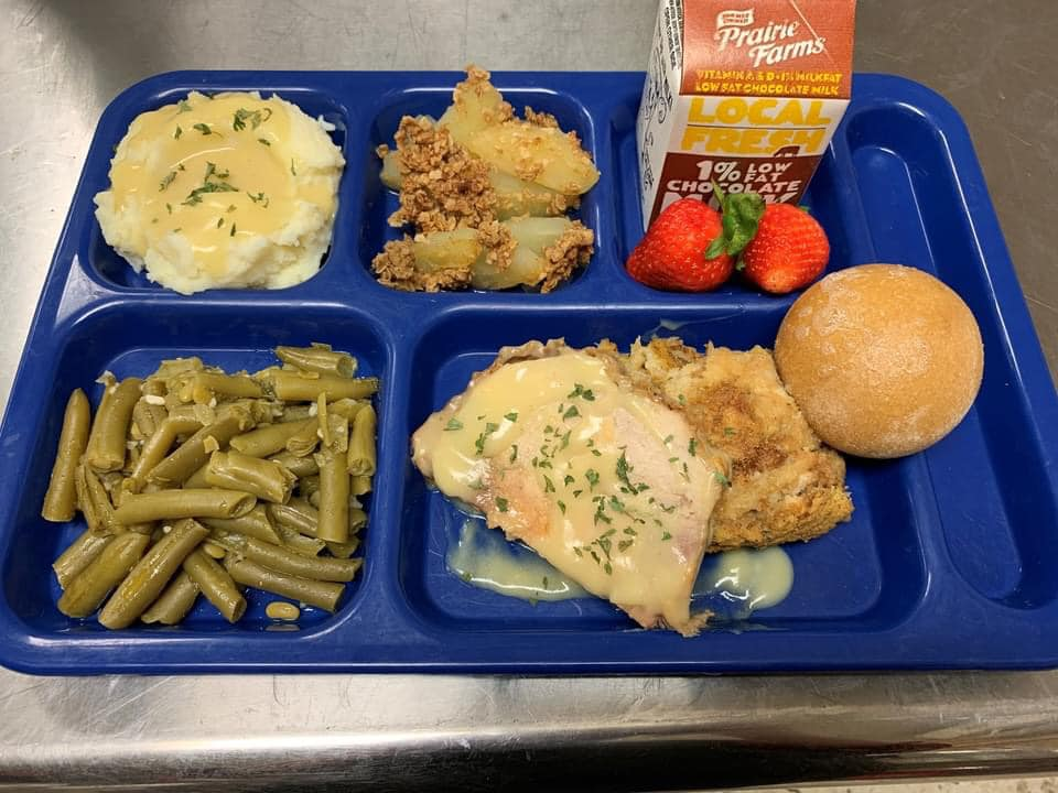 Thankful for Students, Schools Provide Holiday LunchCelebrations