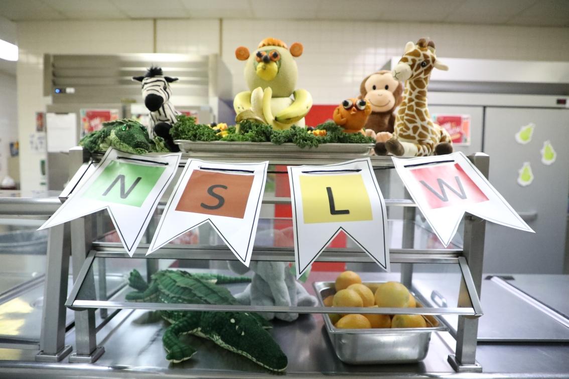 It's getting wild this National School LunchWeek!